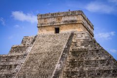 Kukulkan pyramid in Chichen Itza. Mexico Stock Photography