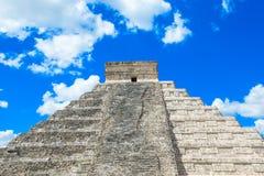 Kukulkan Pyramid in Chichen Itza Site, Stock Photography