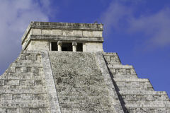 Kukulkan Pyramid at Chichen Itza Royalty Free Stock Image