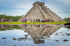 Kukulkan pyramid in Chichen Itza, Yucatan Stock Photo