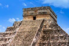 Kukulkan pyramid in Mexico Royalty Free Stock Photo