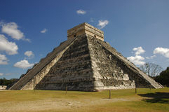 Kukulkan Pyramide, Chichen Itza Lizenzfreie Stockfotos