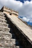 Kukulkan Pyramide-Schatten stockbild