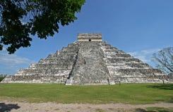 Kukulkan's Pyramid Stock Image