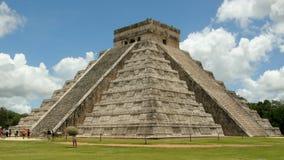 Kukulkan temple. Kukulkan the Mayan temple in Mexico Stock Photography