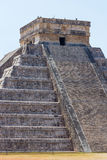 Kukulkantempel in Chichen Itza stock fotografie
