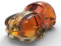 Kukurudza etanolu samochodu zasadzona ilustracja ilustracja wektor
