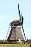 Kukurudza młyński De Phenix w Nes, Ameland wyspa, Holandia Obraz Royalty Free
