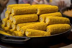 kukurydza gotowała Obrazy Royalty Free
