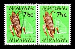Kukurydza, Ostateczny zagadnienie - Dziesiątkowy Emisyjny seria około 1964, Obrazy Stock
