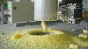 Kukurydzana mąka, fabryka dla produkci kukurydzani płatki zbiory
