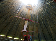 Kukurydzana pełnia silos from Inside Fotografia Royalty Free