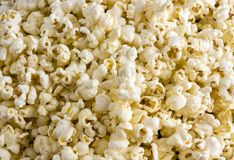 Kukurydzana popkorn tekstura tekstury przekąska obrazy royalty free