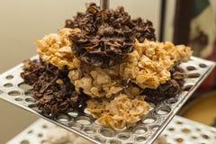 Kukurydzanego płatka cukierki Obraz Royalty Free