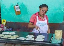 Kukurydzanego tortilla ciasta fabryka Fotografia Stock