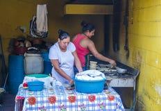 Kukurydzanego tortilla ciasta fabryka Zdjęcie Stock