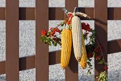 Kukurydzanego ucho dekoracja Obraz Stock