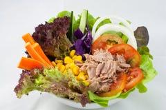 kukurydzanej sałatki tuńczyk Obraz Royalty Free