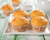Kukurydzani muffins Fotografia Royalty Free