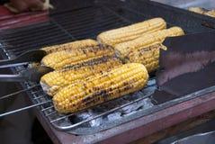 Kukurydzany grill obraz royalty free