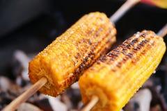 Kukurydzany grill Zdjęcia Stock