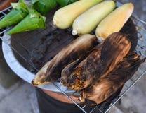 Kukurydzany grill Obrazy Royalty Free
