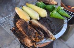 Kukurydzany grill Zdjęcia Royalty Free