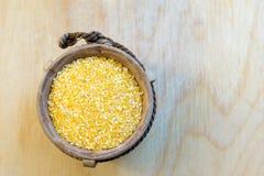 Kukurydzany Groat zakończenie Up Obrazy Royalty Free