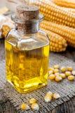 Kukurydzany olej zdjęcia stock