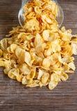 Kukurydzany płatek Zdjęcia Stock
