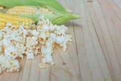 kukurydzany popkorn Fotografia Stock