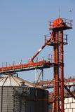Kukurydzany silos Obrazy Stock