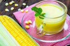 Kukurydzany sok Fotografia Stock