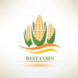 Kukurydzany wektorowy symbol Obrazy Royalty Free
