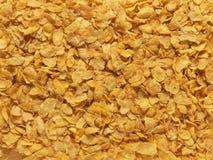 Kukurydzanych płatków folujący ramowy tło - Akcyjny wizerunek obraz stock