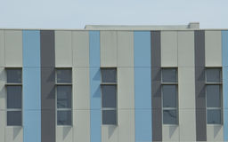 Kulör Bulding fasad Arkivbild