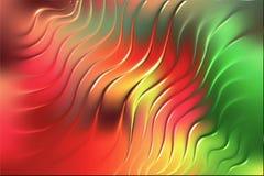 Kulör för bakgrundstapet för våg 3d illustration för vektor vektor illustrationer