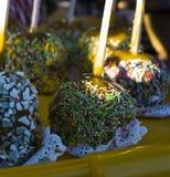 Kulör glass för sötsak fotografering för bildbyråer