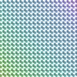 Kulör hologramklistermärke för regnbåge Arkivfoton