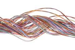 Kulör kabel arkivbilder
