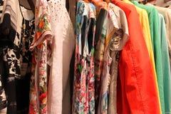 Kulör kläder royaltyfri fotografi