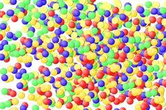 Kulör konfettibakgrund Arkivbild