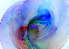 kulör mång- swirl Royaltyfri Foto
