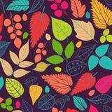 Kulör modell på sidatema Autumn Pattern Royaltyfri Foto