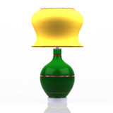 Kulör modern lampa Arkivfoto