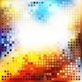 kulör mosaik vektor illustrationer