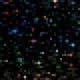 Kulör neonkirakira för prickar Arkivbild