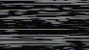 Kulör oväsenGrunge fodrar korn förvriden moderiktig texturbakgrund stock video