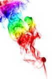 kulör rök Arkivbilder