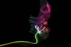 kulör rök Arkivfoto